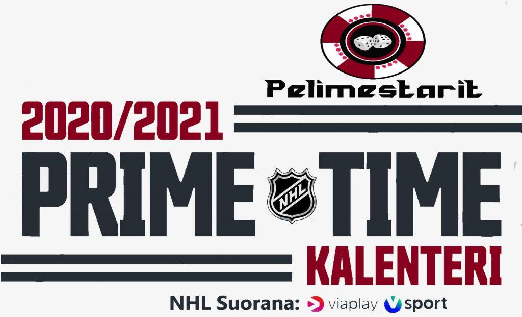 NHL prime time 2021 kalenteri