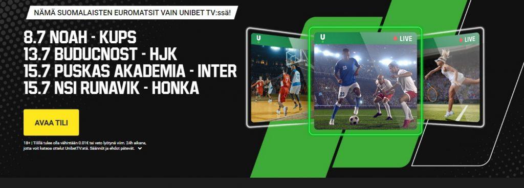 Inter - Puskas Akademia ilmainen livestream
